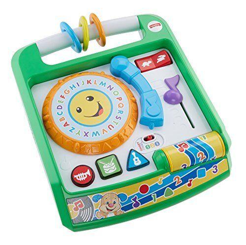 Mattel Fisher-Price Lernspaß Plattenspieler Babyspielzeug Spieluhren Spielzeug  | Komfort