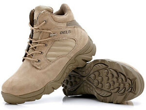 Men's Military Tactical Boots Desert Hiking Breathable Combat Ankle Boots