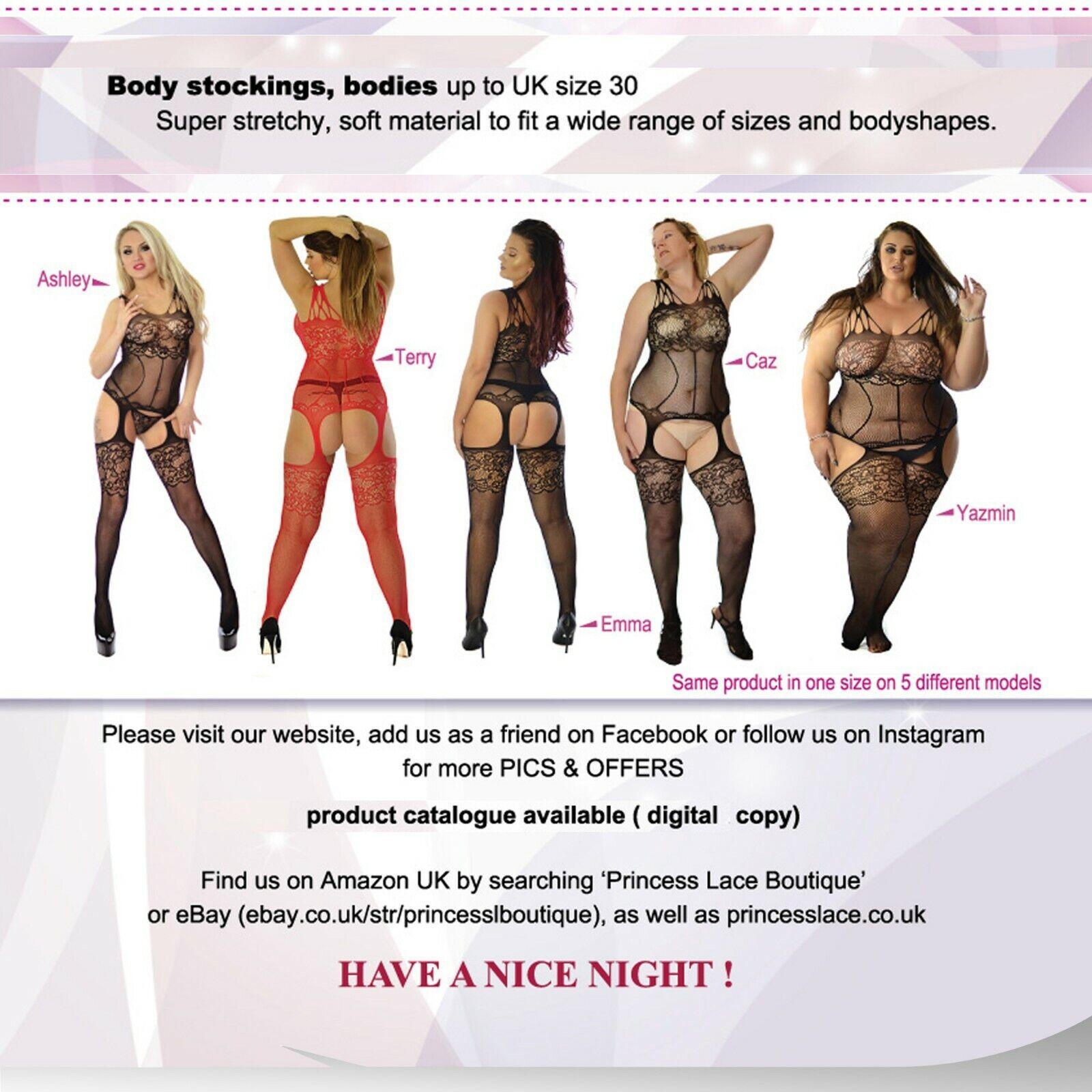 Stockings Negligee Tights Wave Shape Lingerie Bodysuit Underwear For Sale Online Ebay