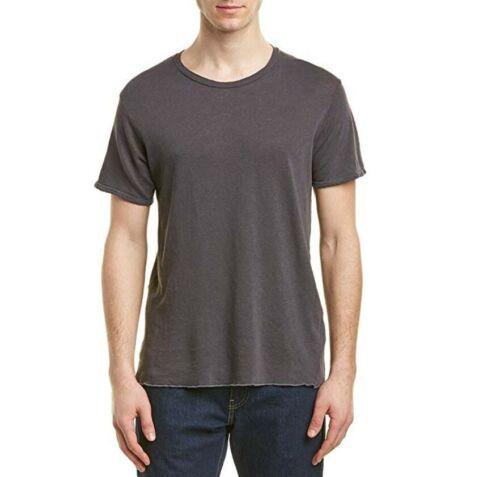 J Brand Mens Grandpa JB001223 T-shirt Slim Worn Iron Grey Size S