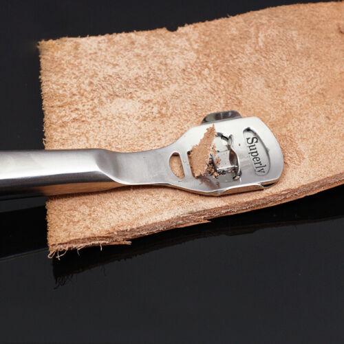 Leathercraft Edge Skiving Skiver zum Ausdünnen von Leder Craft Steel