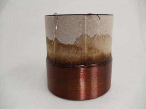 """2.5/"""" SINGLE  3 OHM VOICE COIL Subwoofer Speaker Parts VC030754"""