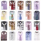 Steven Land Assorted French Cuff Dress Shirt High Spread Collar Size 19 34/35