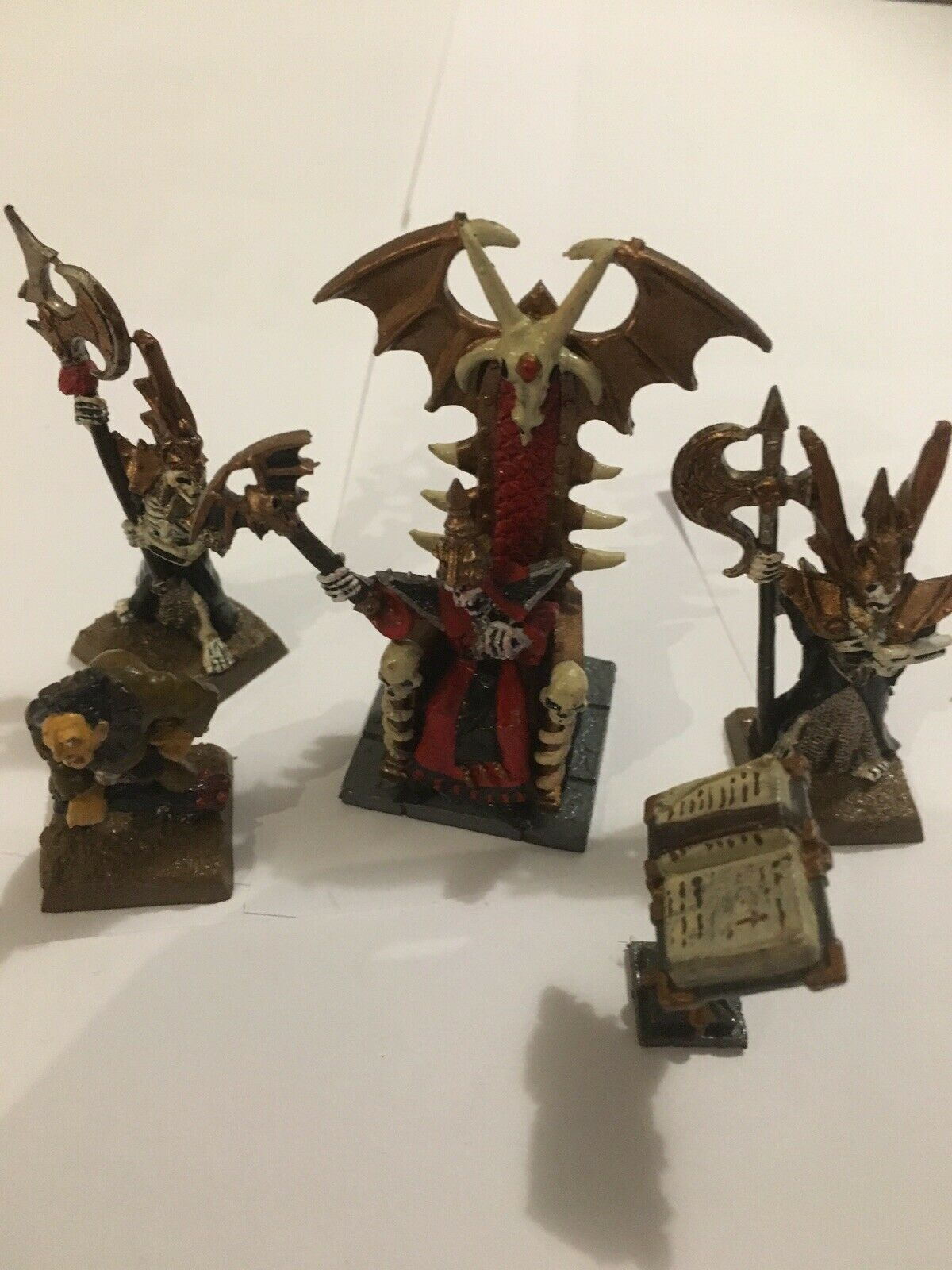 Warhammer Quest Undead Vampire Counts Dread King And Retinue