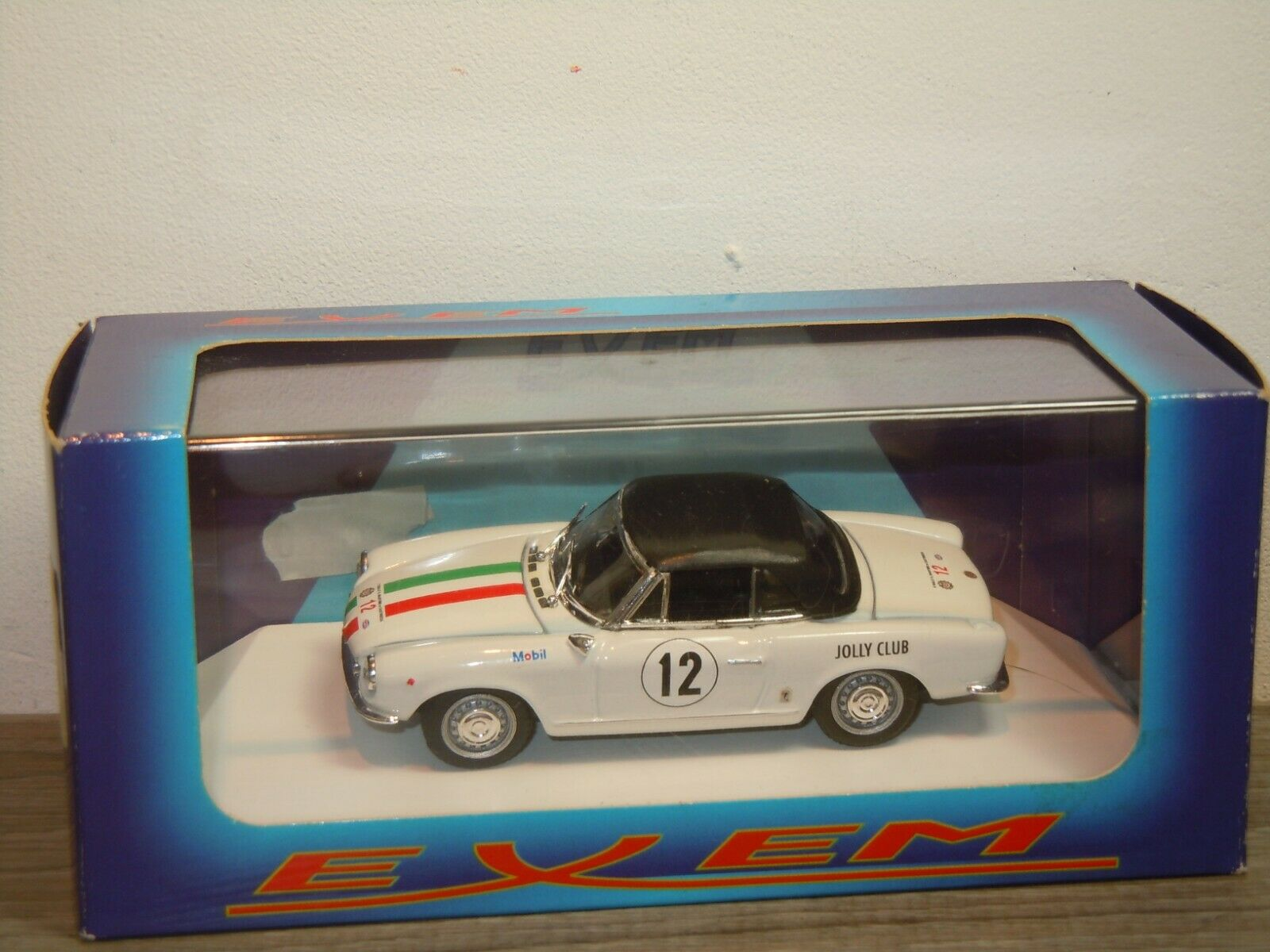 Fiat 124 Sport Spyder 1400 Rally '68 - Exem EX26  1 43 in Box 37212