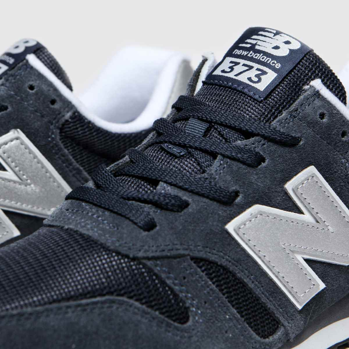 New Balance 373 v2 Navy & Silver Men's Trainer Sneakers / Limited Size