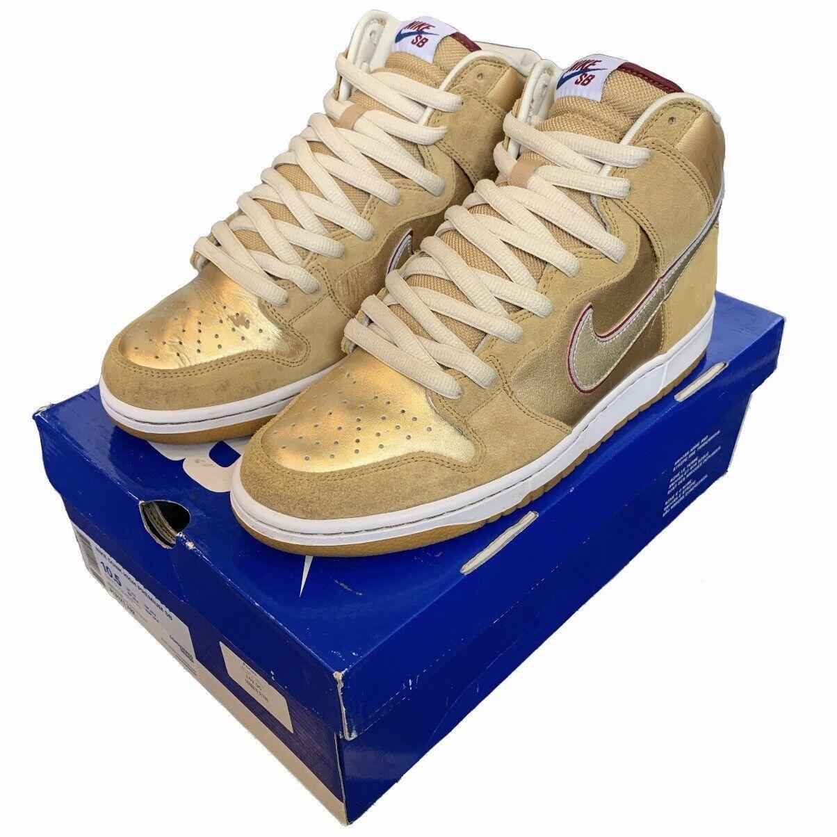 Nike SB Dunk High Premium Eric Koston tailandés templo UK9.5US10.5EU44.5 Usado Raro
