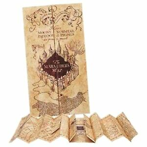 Harry Potter Hogwarts Marauders Map Prop Replica - Collectors Noble Solemly Card