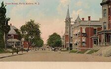 View on State Street in Perth Amboy NJ Postcard
