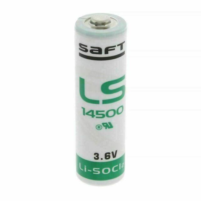 2 x Saft 3.6v LS14500 AA Size Li-SOCl2 Lithium Thionyl Chloride Battery Bargain