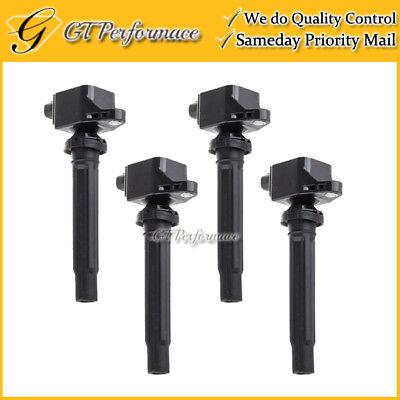 OEM Quality Ignition Coil 4PCS for 06-08 Suzuki Grand Vitara 2.7// 07-09 SX4 2.0L