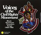 Voices of the Civil Rights Movement Black American Freedom Songs 1960-1966 by Various Artists (CD, Jan-1997, 2 Discs, Smithsonian Folkways Recordings)