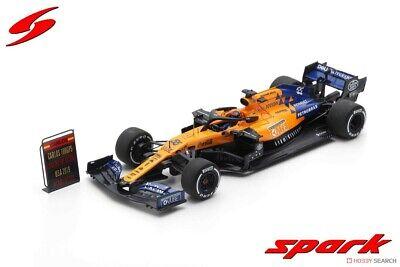 McLAREN F1  MCL34 TEAM MCLAREN F1 N 55 USA GP 2019 C.SAINZ 1//43 SPARK-MODEL