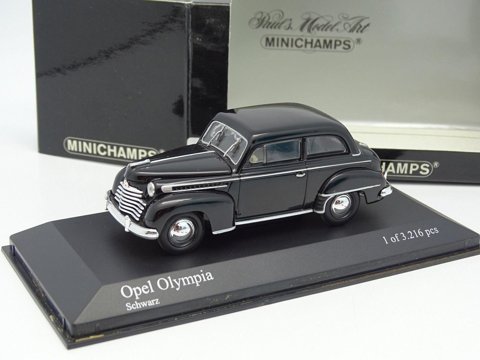 Minichamps 1 43 - Opel Olympia 1952 black black black bf2422