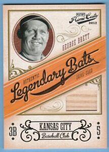 2012-Playoff-Prime-Cuts-Legendary-Bats-George-Brett-Relic-99-Materials-Royals