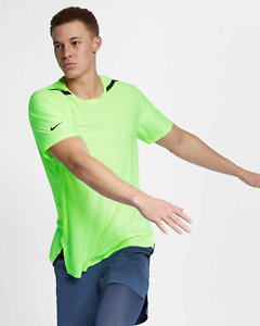Details about Nike Dri-FIT Tech Pack Men's Short-Sleeve Training Top S M XL  Volt Green Yellow
