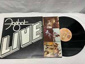 Foghat LIVE Vinyl LP 1977 Bearsville Records VG+ Free Shipping