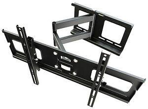"Support Mural Pour TV LCD LED Plasma 81-165cm (32""- 65"") Pivotant RW05"