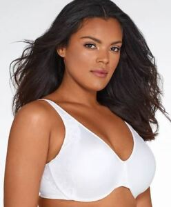 5b132d4c469a4 Image is loading BALI-SIDE-SMOOTHING-MINIMIZER-BRA-WHITE-42G