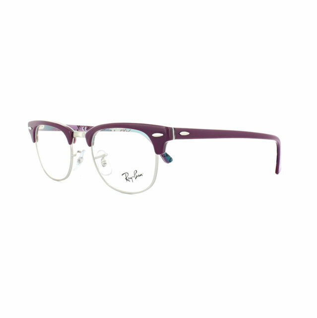 95342418b73 Ray-Ban Glasses Frames 5154 Clubmaster 5652 Violet Texture Camouflage