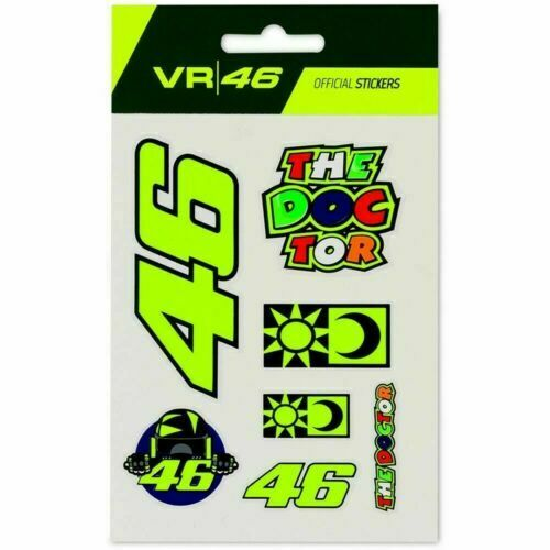 46 The Doctor Rossi Sticker,Decal,Vinyl,Car,Van,4x4 Bike,Laptop,Toolbox,Etc