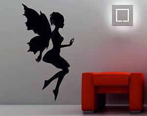 Magic Fairy Wings Fairy Tales Girls Princess Decorative Vinyl Wall Sticker Decal