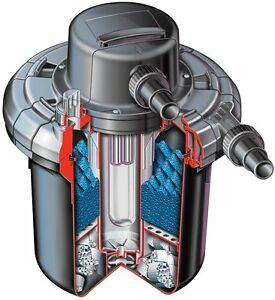 HOZELOCK BIOFORCE REVOLUTION 14000 UV POND PRESSURE FILTER AND PUMP SYSTEM UVC