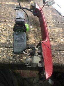 Range Rover P38 Key Fob Barrel Lock Door Handle