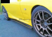 Carbon Side Skirt Extension Under Board Add On Kit For Mazda RX7 FD3S Fed Style