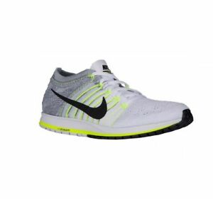 newest 505a3 1f029 Image is loading SZ-7-MENS-NIKE-FLYKNIT-835994-100-WHITE-