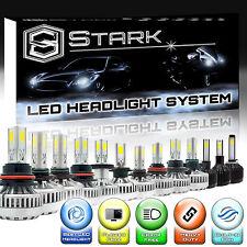 LED 90W 9000LM Headlight Kit Bulbs - H4 H7 H10 H11 H13 5202 9004 9005 9006 9007