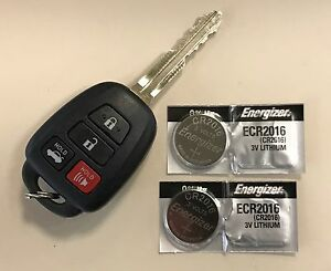 Image Is Loading 2x Energizer Batteries For Toyota Camry Cr2016 Fits