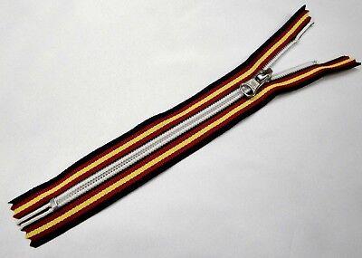 cerniere utilizzabili su KWAY Chiusure lampo 6 nylon multicolore  da 10 a cm.70