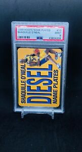 1999-Skybox-Hoops-NAME-PLATES-10-SHAQUILLE-O-039-NEAL-PSA-9-MINT-RARE-LOW-POP