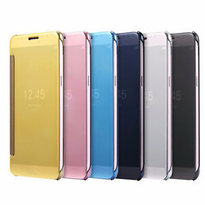 New-Clear-View-Smart-Flip-Cover-Case-for-Xiaomi-Redmi-Mi-Note-4-Indian-variant