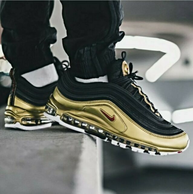 Nike Air Max 97 QS 'Metallic GOLD' Mens