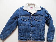 Levi's Jacke Jeansjacke Fell gefüttert Gr. XS, Vintage Indigo, Made in USA RAR !