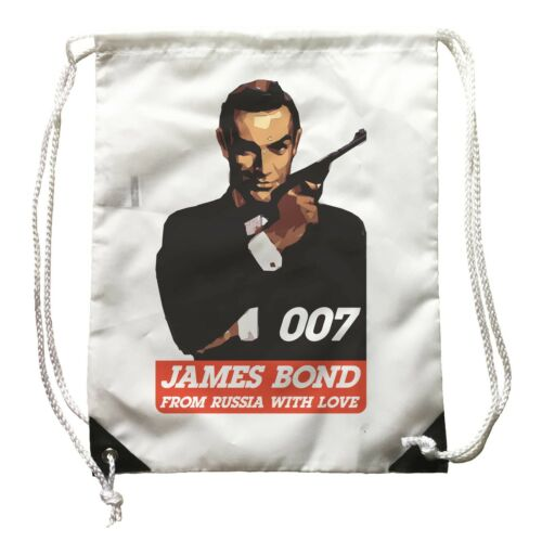 Film Zainetto James Bond 007 From Russia with Love Zaino Sport Artwork cinema