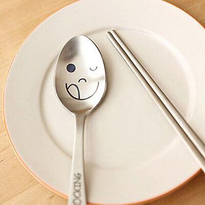 Wicker Rocking Spoon Chopsticks Set Spoons Cutlery Cute Tableware Kids Korean