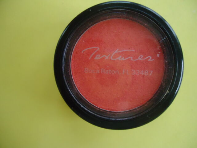 New Compact Powder Blush Textures Boca Raton Fl. Natural  Rich Apricoral Color