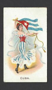WILLS-O-039-SEAS-FLAG-GIRLS-OF-ALL-NATIONS-CUBA