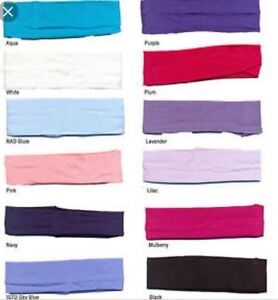 COTTON LYCRA BALLET//DANCE SCRUNCHIES 100/% TOP QUALITY.RAD/&ISTD APPROVED COLOURS