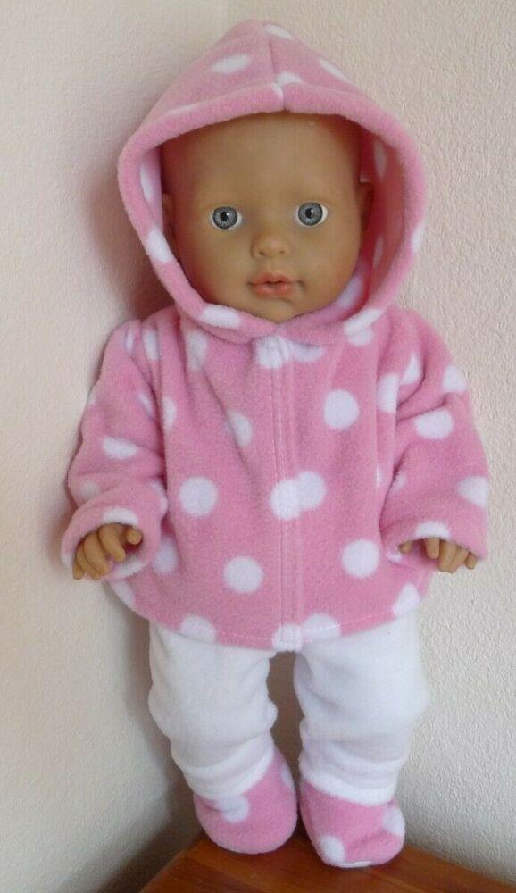 Annabell et baby born poupées Bébé poupées vêtements fait main pour s/'adapter 18 in environ 45.72 cm