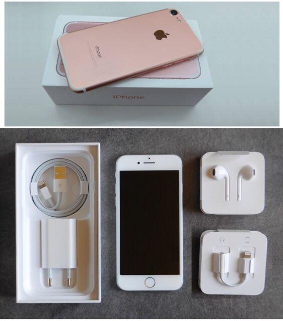 APPLE iPHONE 7 32GB ROSE-GOLD CON CAJA Y ACCESORIOS ORIGINALES