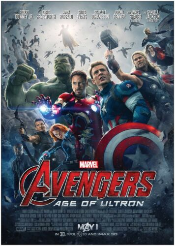 Avengers Age Of Ultron Classic Large Movie Poster Print A0 A1 A2 A3 A4 Maxi