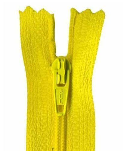 25cm Light Gold Dress Zip