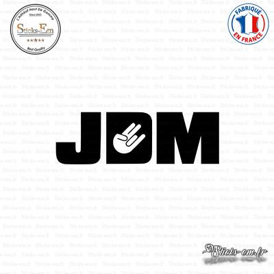 Sticker JDM Boost Loading Decal Aufkleber Pegatinas D-080 Couleurs au choix