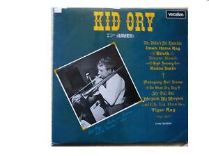 KID-ORY-live-UK-vinyl-LP-VOCALION-LAE-L-605-Pieces-Grande