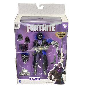 Fortnite-Legendary-Series-RAVEN-6-034-inch-Action-Figure-New-Epic-Games-Jazwares