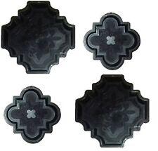 4 Schalungsformen, Gießformen für Beton Gips Trittsteine Gehweg Garten Orient 3D